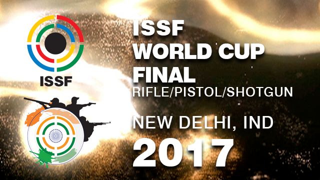 ISSF WORLD CUP FINAL 2017
