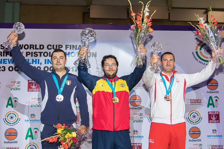 ISSF World Cup Final in New Delhi: medals and records