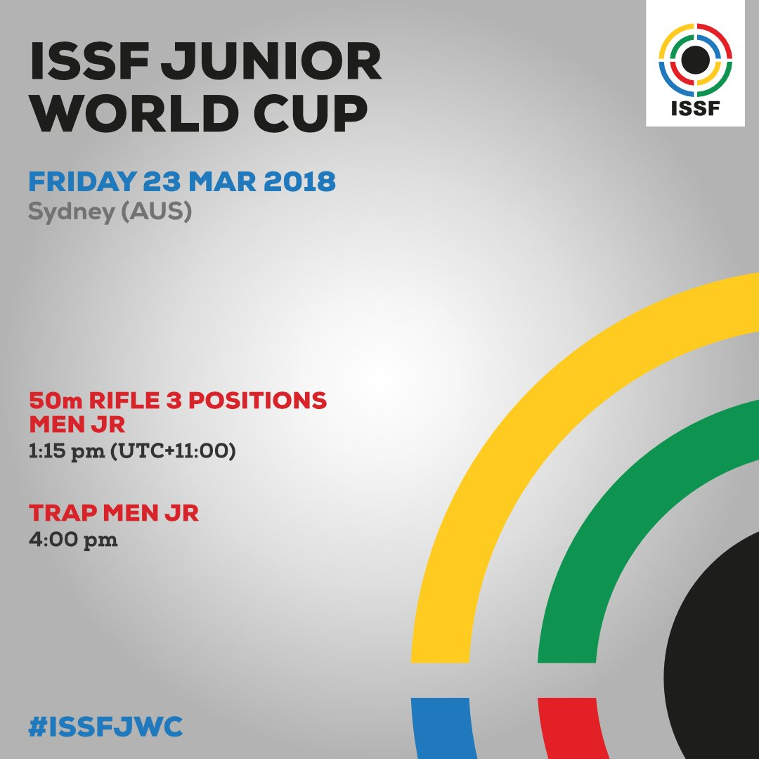 ISSF WORLD CUP JUNIOR 2018